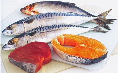 жирные сорта рыбы, обогащенных омега 3