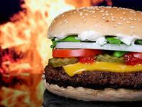 гамбургер неправильное питание